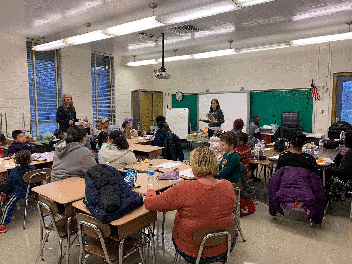 Food Advocacy Team Visits Halls Cross Roads Elementary
